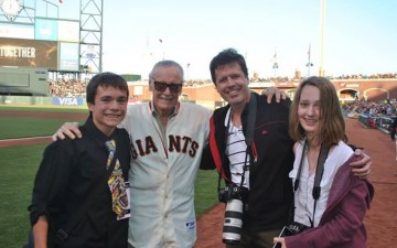 Marvel Comics genius Stan Lee meets The Olympian