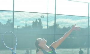 Lady Trojans Bagel Tennyson Tennis Team